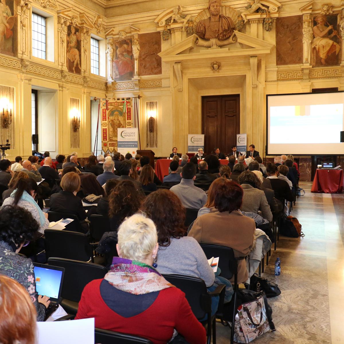 Evento INCLUSIVE MINDSET: sala Alessi Palazzo Marino